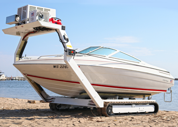 Beachlauncher – Hassle-Free Boat Launching